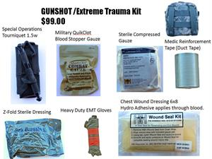 GUNSHOT / Extreme Trauma Kit